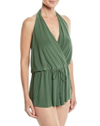 Magicsuit Bianca One Piece Swim Romper Green