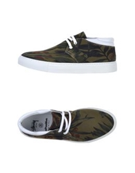Bepositive High Tops And Trainers Military Green