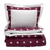 Gant Star Border Duvet Cover Purple Fig Super King