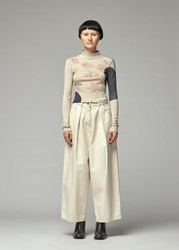 Eckhaus Latta 'S Lapped Baby Long Sleeve Turtleneck T Shirt In Isolated Spots Size Xs