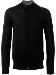 Paolo Pecora Concealed Fastening Cardigan Black