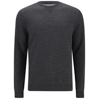 Derek Rose Men's Dorset 1 Sweatshirt Charcoal Grey