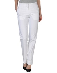 Jil Sander Casual Pants White
