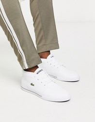 Lacoste Ampthill Trainer In White