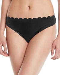 Lablanca Petal Scalloped Hipster Bikini Bottoms Midnight Blue