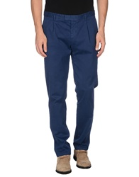 Royal Hem Casual Pants Blue
