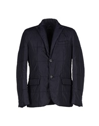 Seventy By Sergio Tegon Jackets Dark Blue