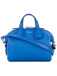 Givenchy Micro Nightingale Tote Blue