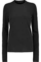 Agnona Cotton Top Black