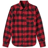 Beams Plus Guide Check Shirt Red