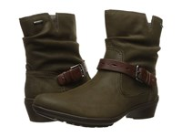 Rockport Cobb Hill Riley Spruce Women's Boots Green