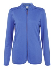 Dash Curved Seam Jacket Mid Blue