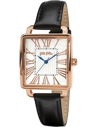 Folli Follie Wf16r012sps_Bk Rose Gold Plated Square Watch