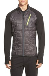 Men's Smartwool 'Corbet 120' Water Resistant Mixed Media Jacket