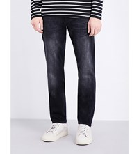 7 For All Mankind Huntley Slim Fit Tapered Jeans Black