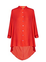 Bower Mackey Point Collar Shirt Red