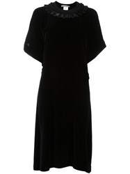 Veronique Branquinho Asymmetric Dress Black