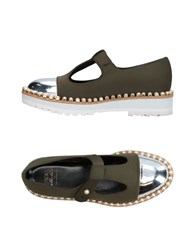 Suecomma Bonnie Loafers Military Green
