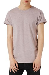 Topman Men's Muscle Fit Roller T Shirt Pink