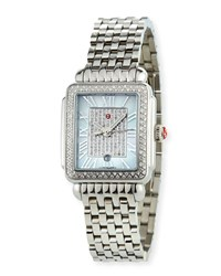Michele Deco Madison Diamond Watch Special Edition Pearl