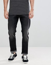 Selected Homme Tapered Fit Jeans Made In Italy Washed Black 1429