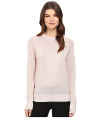 Equipment Sloane Crew Sweater Ivory Pink Lurex Women's Sweater