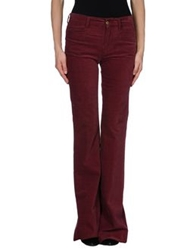 Mih Jeans Casual Pants Maroon