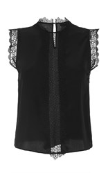 Alexis Zo Sleeveless Top Black