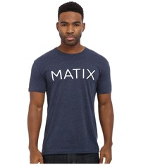 Matix Clothing Company Monoset T Shirt Navy Men's T Shirt