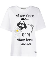 Boutique Moschino Sheep Loves Me.T Shirt 60