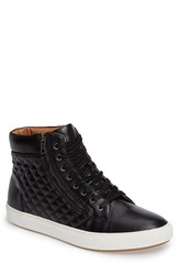 Steve Madden Men's Quodis Quilted High Top Sneaker