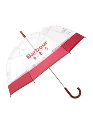 Barbour Raindrop Umbrella Red