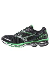 Mizuno Wave Creation 17 Cushioned Running Shoes Ombre Blue Silver Irish Green