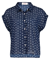 Louche Gogo Blouse Navy Dark Blue