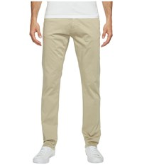 Calvin Klein Jeans Slim Straight Stretch Sateen Pants Quinoa Men's Casual Pants Multi
