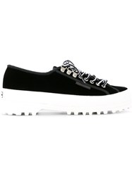 Alexachung Alexa Chung Panelled Sneakers Black