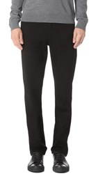 7 For All Mankind Luxe Sport Slimmy Jeans Black
