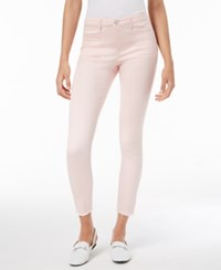 Maison Jules Frayed Skinny Jeans Created For Macy's Pink Lily