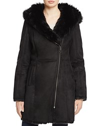 Marc New York Shea Faux Toscana Shearling Coat 100 Bloomingdale's Exclusive Black