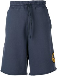 Vivienne Westwood Anglomania Drop Crotch Shorts Blue