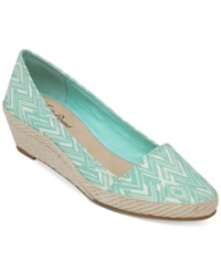 Lucky Brand Women's Tomlinn Espadrille Wedges Women's Shoes Marigold