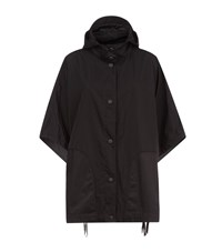 Escada Sport Poncho Coat Female Black