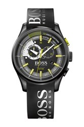 Hugo Boss Men's Regatta Chronograph Casual Sport Watch Black