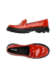 Camper Loafers Red
