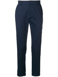 Calvin Klein Jeans Tailored Trousers Blue