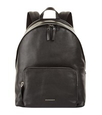 Burberry Abbeydale Grained Leather Backpack Unisex