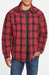 Men's True Grit 'Summit' Lined Plaid Shirt Jacket