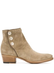 Alberto Fasciani Pointed Ankle Boots 60