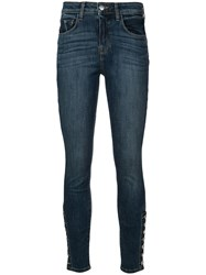L'agence Piper Skinny Jeans Blue