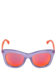 Markus Lupfer Glittered Acetate Sunglasses